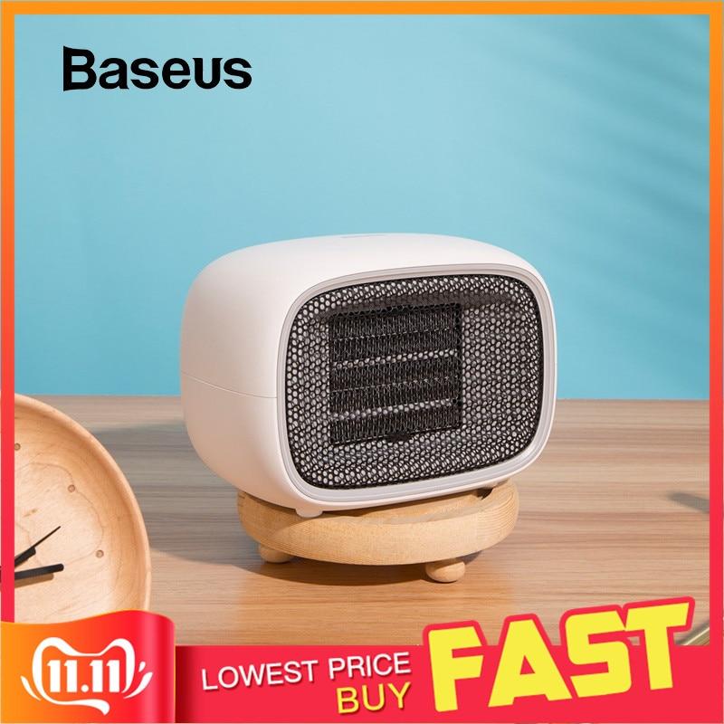 Baseus Electric Heater Warmer Plug Portable Home Heater Handy Warmer For Home Office Household Fan Heater Stove Radiator