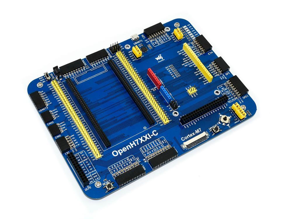 OpenH743I-C Standard STM32 Development Board Designed For The STM32H743IIT6 Microcontroller Supports Further Expansion
