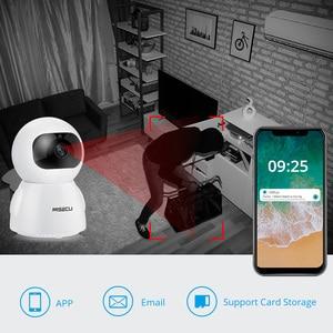 Image 4 - Misecu 1080p câmera ip de segurança em dois sentidos áudio sem fio mini pet câmera rastreamento automático visão noturna cctv wi fi monitor do bebê