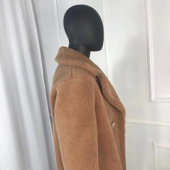 Wool Blend Men Long Windbreaker Coat