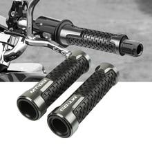 7/822mm Motorcycle Rubber Hand Grip Bar handlebar grips Handle Cnc Aluminum For YAMAHA MT-07 MT-09 MT-10 MT-25
