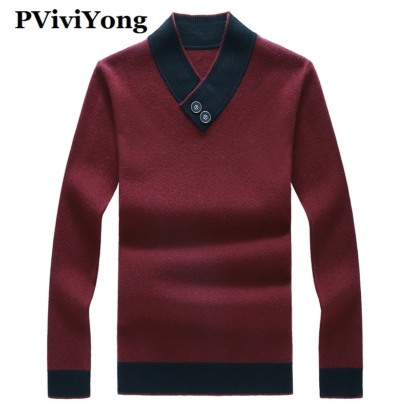PVIVIYONG 2019 New Arrival Autumn High Quality Sweater Men,men's Casual Pullovers