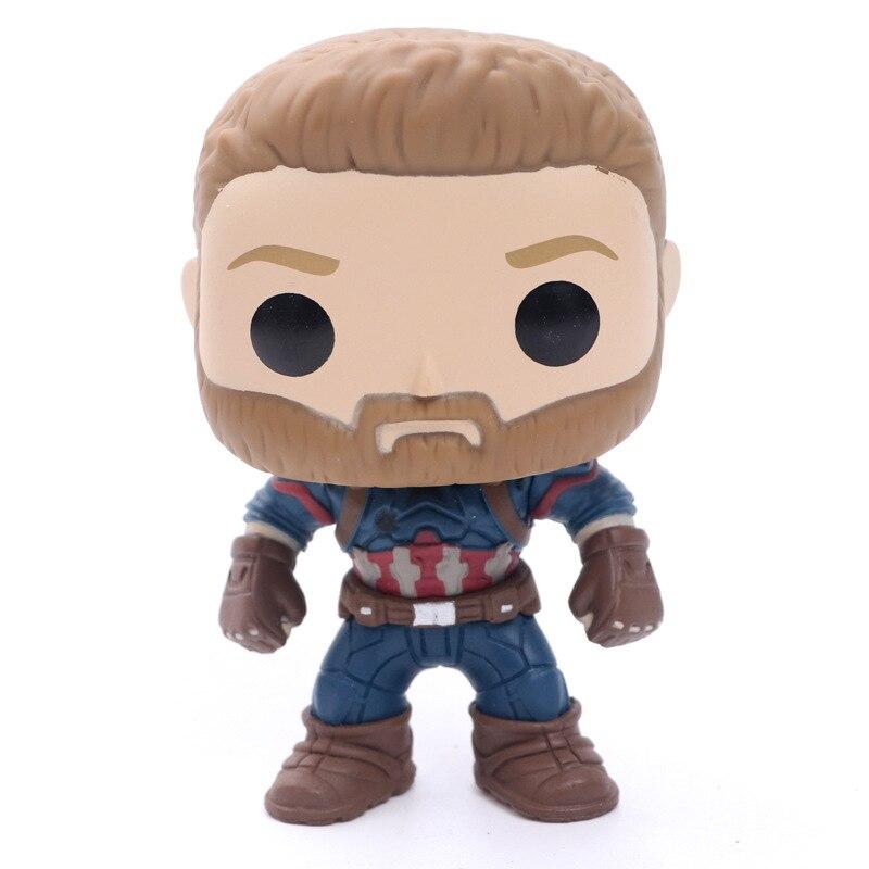Endgame #288 # Капитан Америка, коллекционная фигурка, игрушки для детей, подарок на день рождения, Рождество