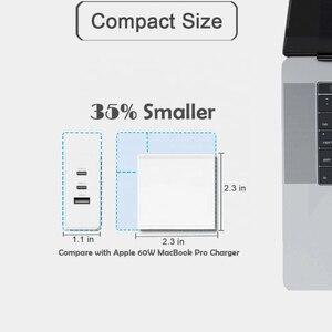 Image 5 - Tquq 3 Poort 65W Gan Usb C Lader Qc 4.0 3.0 Type C Pd Usb Fast Charger Voor macbook Pro Xiaomi Laptop Iphone Samsung Tablet