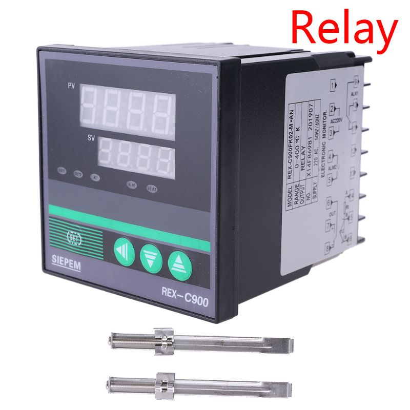 <font><b>PID</b></font> Temperature Controller <font><b>REX</b></font>-<font><b>C900</b></font> K Input Relay Output 96*96mm Thermostat image