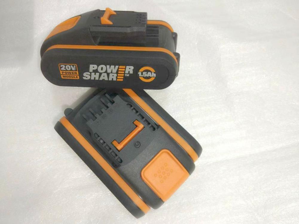 New 20V Battery 1500mah 2000mah Li-ion For Worx WX390/WX176/WX166.4/WX372.1 WX800/WX678/WX550/WX532/WG894E WG629E/WG329E/WG2