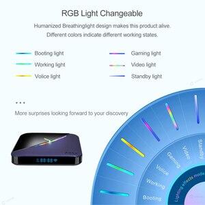Image 4 - A95X F3 Đèn RGB TV Box Amlogic S905X3 Android 9.0 4GB 64GB 32GB Hỗ Trợ Dual Wifi 4K 75fps Youtube Plex Chơi Phương Tiện A95XF3