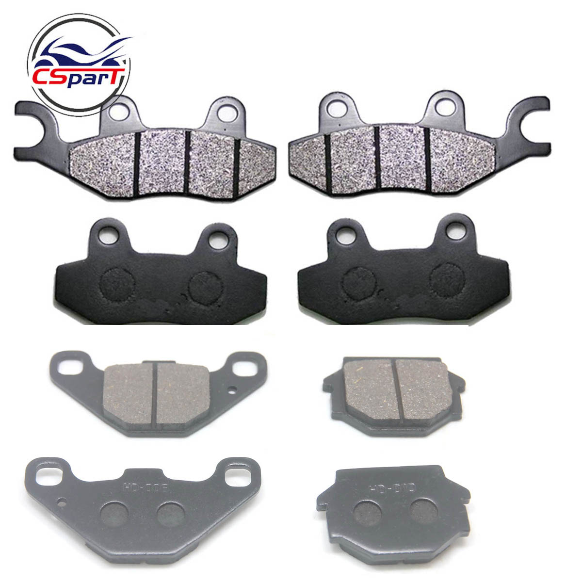 4 Sets Front  Brake Pad For CFMoto UFORCE CF500 500 550 800 U5 U8 500CC 800CC UTV 9060-080910 9060-080810 7030-081520