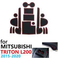 Anti-Slip Coppa di Gomma Cuscino per Mitsubishi L200 Triton Strada Strakar Barbaro Fiat Terzino RAM 1200 2015 ~ 2020 accessori