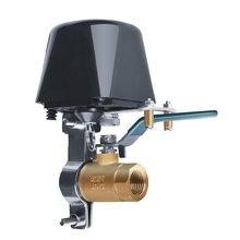 Туя Умный WiFi Клапан Палку И Использовать IP67 Водонепроницаемый Приложение Раздвигает Сигнализация Утечки Воды Предупреждению Охранник 1 Комплект
