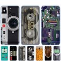 Силиконовый чехол для redmi 8a 8 note 8 9 PRO 8T 9S для xiaomi mi NOTE 10 PRO 9 lite POCO F2 Pro Vintage Tape Camera Gameboy