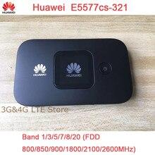 Entsperrt Neue HUAWEI E5577 E5377 4G LTE Cat4 E5577Cs 321 E5377s 32 1500mah Mobile Hotspot Drahtlose WIFI Router Tasche