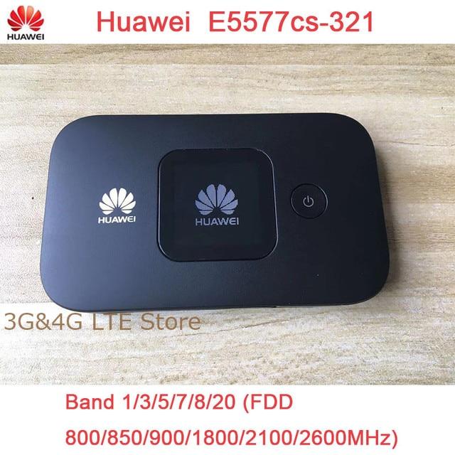 Unlocked yeni HUAWEI E5577 E5377 4G LTE Cat4 E5577Cs 321 E5377s 32 1500mah mobil Hotspot kablosuz WIFI yönlendirici cep
