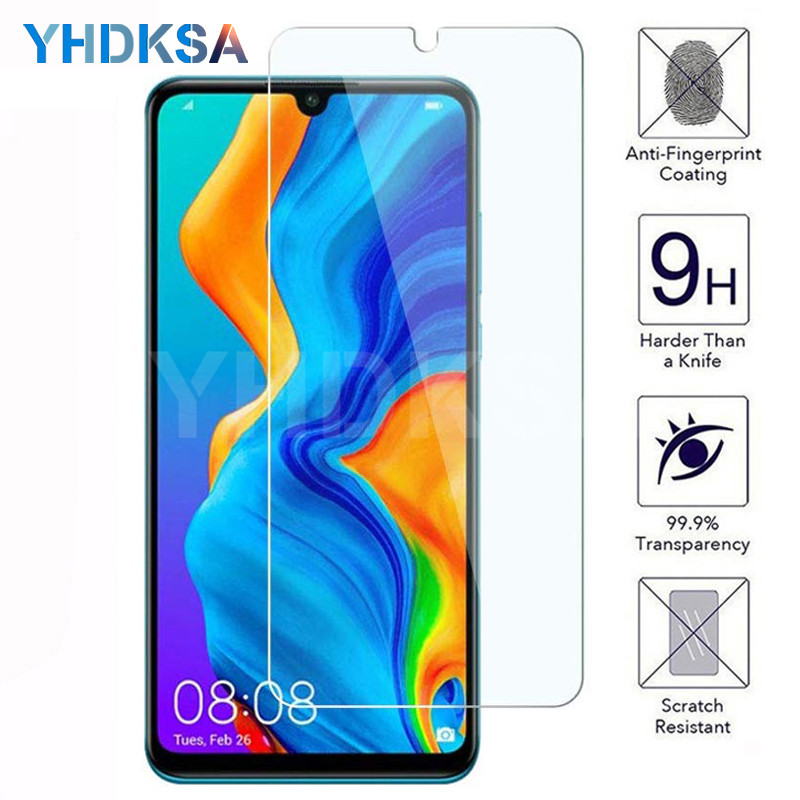 9H Tempered Glass on For Huawei P30 Lite P Smart Z Huawei P20 Pro P10 Lite Plus Safety Screen Protector Protective Glass Film