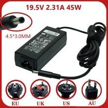 19,5 V 2.31A 45 Вт ноутбук Ac Мощность адаптер Зарядное устройство для Dell Xps 12 13 13R 13Z 14 13-L321X 13-6928Slv 13-4040Slv Прямая продажа с фабрики