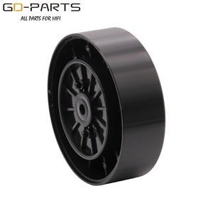 Image 2 - _ _ _ _ _ _ _ _ _ _ _ _ _ _ _ _ _ _ _ _ * 23mm işlenmiş alüminyum plastik hoparlör başak ayak taban Pad Mat ayak standı için Hifi Turntable AMP CD DAC kaydedici 4 adet