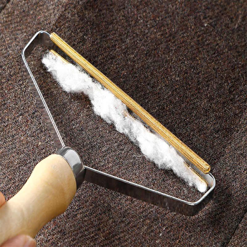 Przenośny Lint Remover odzież Fuzz Fabric Shaver Brush Tool Power-Free Fluff Removing Roller na sweter tkany płaszcz