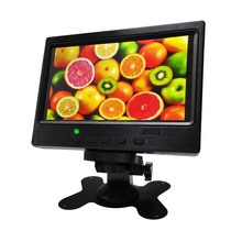 7 inch monitor display signal test screen HDMI PS4 Raspberry Pi physical resolution 1024x600ips