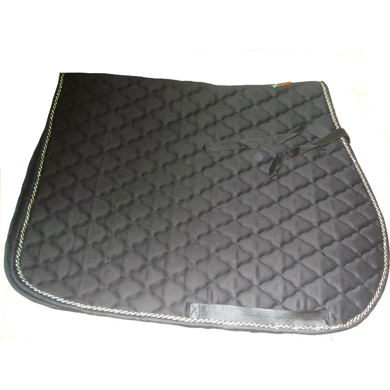 Horse Riding Saddle Pads Equestrian Equipment For Horse Racing Saddle Thickened Mats With Pocket T/C Cotton Dressage Saddle Pad