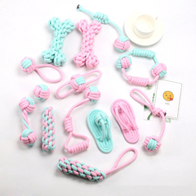 2020 New Pet Dog Creative Toys Chewing Rope Bite-Resistant Ball Of Cotton Cat And Funny Interactive