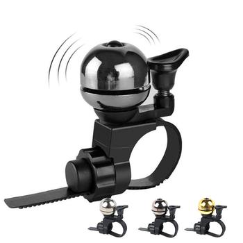 Dzwonek rowerowy odpowiednia maksymalna średnica kierownicy 3 8cm Retro miedź dźwięk dzwonka jakość ostry sprzęt do rowerów szosowych tanie i dobre opinie Zwyczajne bell CLD6 copper Black Silver Gold Sound Is Crisp 1 6cm