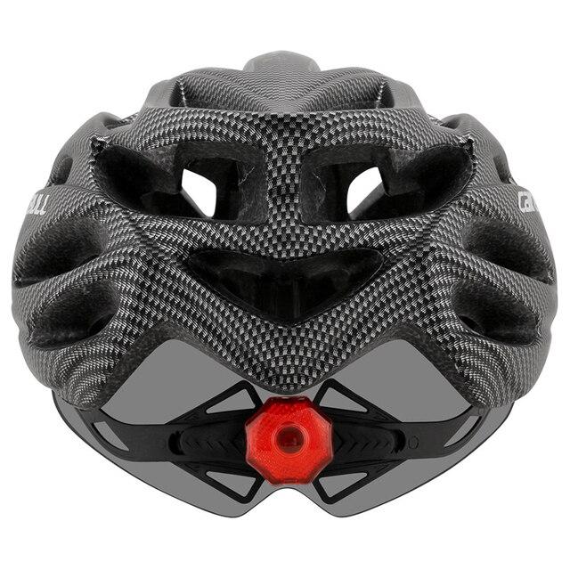 Cairbull ultraleve ciclismo capacete da bicicleta capacete in-mold com viseira mtb estrada de corrida capacete da bicicleta equitação tampa segura casco ciclismo 5