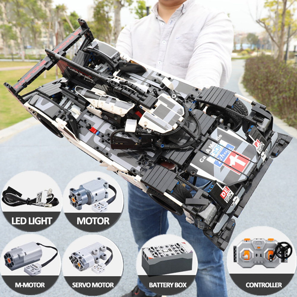 CADA C61016 20086 Technic Series Super Sports Car Racing 919 MOC <font><b>42083</b></font> Building Block Bricks Toys For Children Gift Price: U image