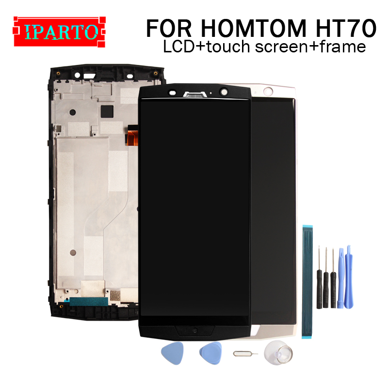 HOMTOM HT70 LCD Display+Touch Screen Digitizer +Frame Assembly 100% Original LCD+Touch Digitizer for HOMTOM HT70(China)