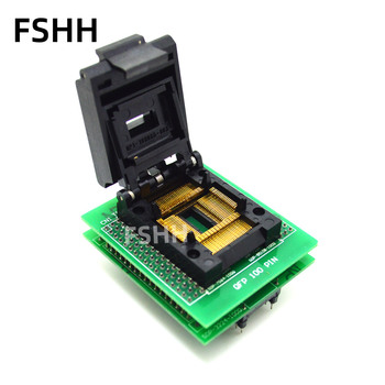 QP1-100085-003 test socket SDP-3224-100Q programmer adapter QFP100 to DIP48 test socket