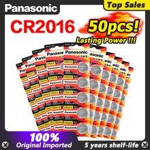 50 шт. оригинальный бренд для PANASONIC cr2016 BR2016 DL2016 LM2016 KCR2016 ECR2016 3v кнопочные литиевые батареи для часов