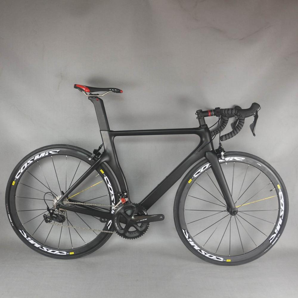 2021 Complete Road Carbon <font><b>Bike</b></font> ,Carbon <font><b>Bike</b></font> Road Frame with groupset shi R7000 22 speed Road Bicycle Complete <font><b>bike</b></font> image