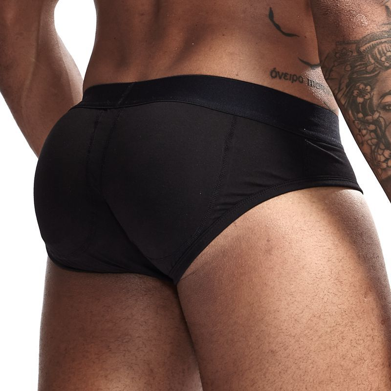 New Sexy Men's Hips Padded Men Underwear Boxer Enhancing Hip Sponge Pad Underpants Breathable Men Boxers Shorts