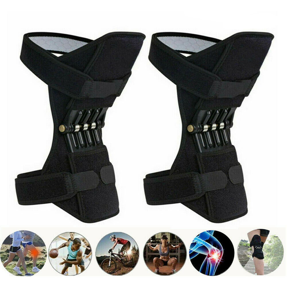 Brace Joint-Support Leg-Protector Knee-Booster Rebound Spring Powerful Force