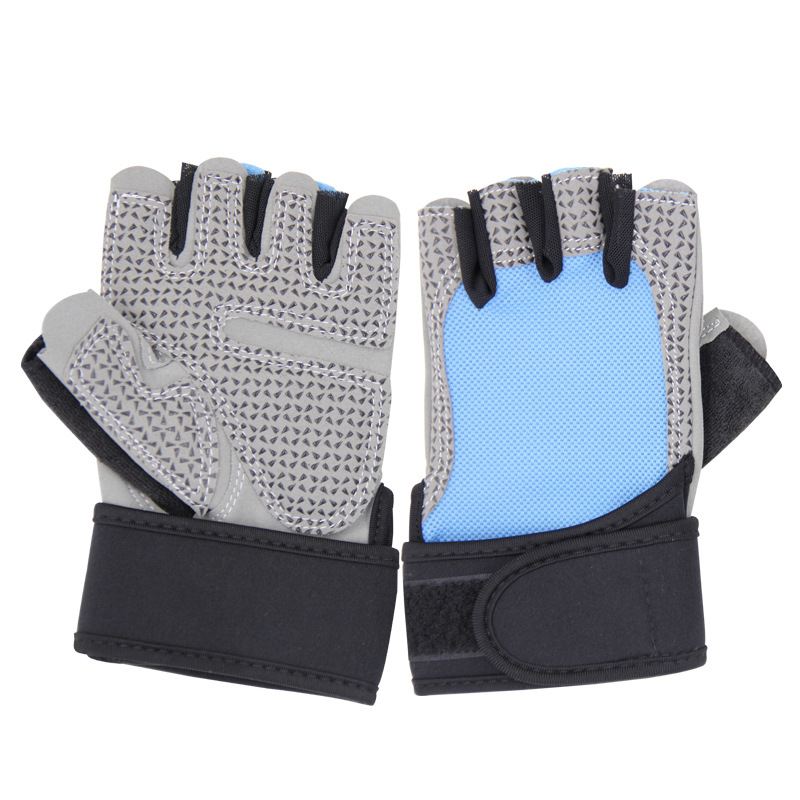 Half-finger Gloves Fitness Gloves Half Finger Women's Outdoor Sports Gloves Anti-slip
