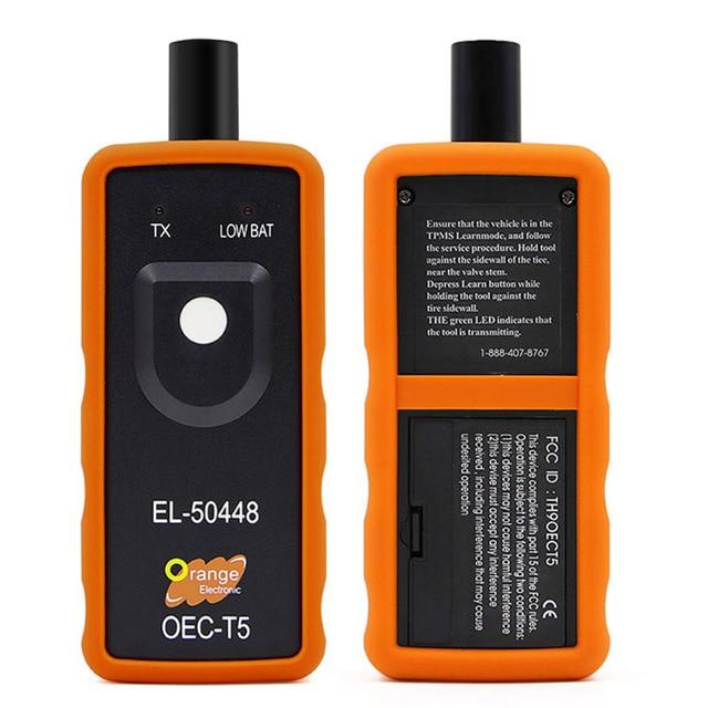 EL 50448 TPMS إعادة أداة السيارات الإطارات مراقبة ضغط الاستشعار OEC T5 لجنرال موتورز للسيارات