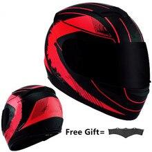 Full Face Helm Casco Moto Capacete Motorhelm Racing Kask Casque Moto Volledige Gezicht Kask Downhill Dot Goedgekeurd