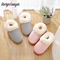 Pantuflas cálidas para invierno para hombres y mujeres Zapatillas de casa Zapatos de interior zapatos de invierno mujeres damas zapatillas mujeres pantufa adulto