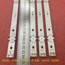 3 Pçs/set tira Retroiluminação LED para LG 43LH5100 43LH615V 43LH7500 43LH604V 43LH570V 43LH590V 43LH510V 43LH5700 43LH630V 43LW540S