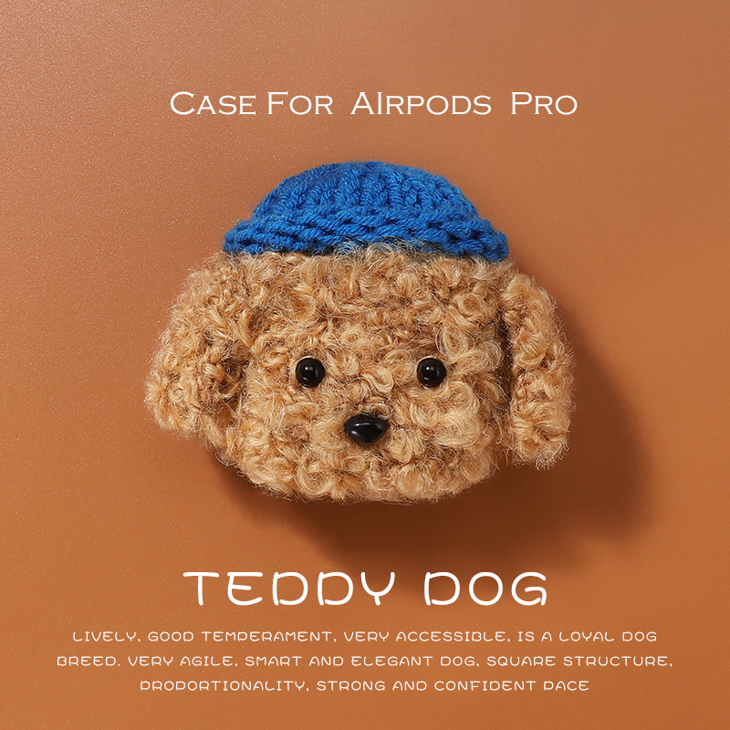 Teddy Plush Case For Apple Airpods Pro Case Wireless Bluetooth Cover For Air Pods Pro 3 Case Cove Accessories Charging Box