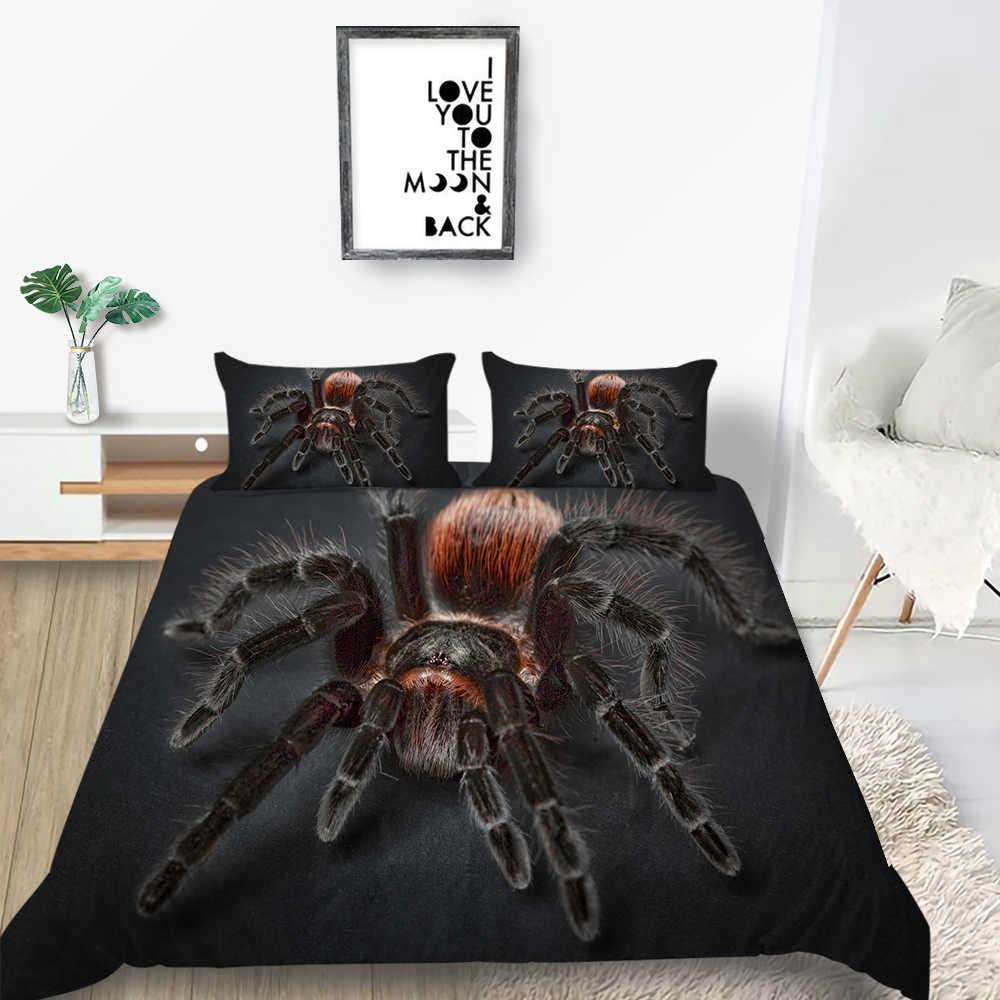 Queen 3X Bettwäsche Set Geometrisch Bettbezug Pillowcover Doppel King Heim