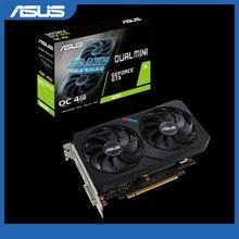 Asus DUAL-GTX1650-O4GD6-MINI placa gráfica nvidia geforce®Placa de vídeo do dp dvi da edição 4gb gddr6 de gtx 1650 oc