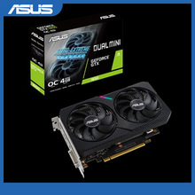 Asus DUAL-GTX1650-O4GD6-MINI Grafikkarte NVIDIA GeForce®GTX 1650 OC edition 4GB GDDR6 HDMI DP DVI Video Karte