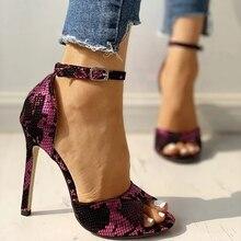 2020 Summer Fashion Woman Shoes Sandals High Heels Thin Heels Peep Toe Party Wedding Pumps Zapatos De Mujer Sandalias  LP633 2020 summer fashion woman shoes sandals high heels thin heels peep toe party wedding pumps zapatos de mujer sandalias lp640