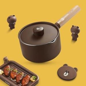 Image 3 - Mini süt tavaları noel hediyesi çikolatalı süt çorbası yapışmaz pişirme kabı için genel kullanım gaz ve indüksiyon ocak