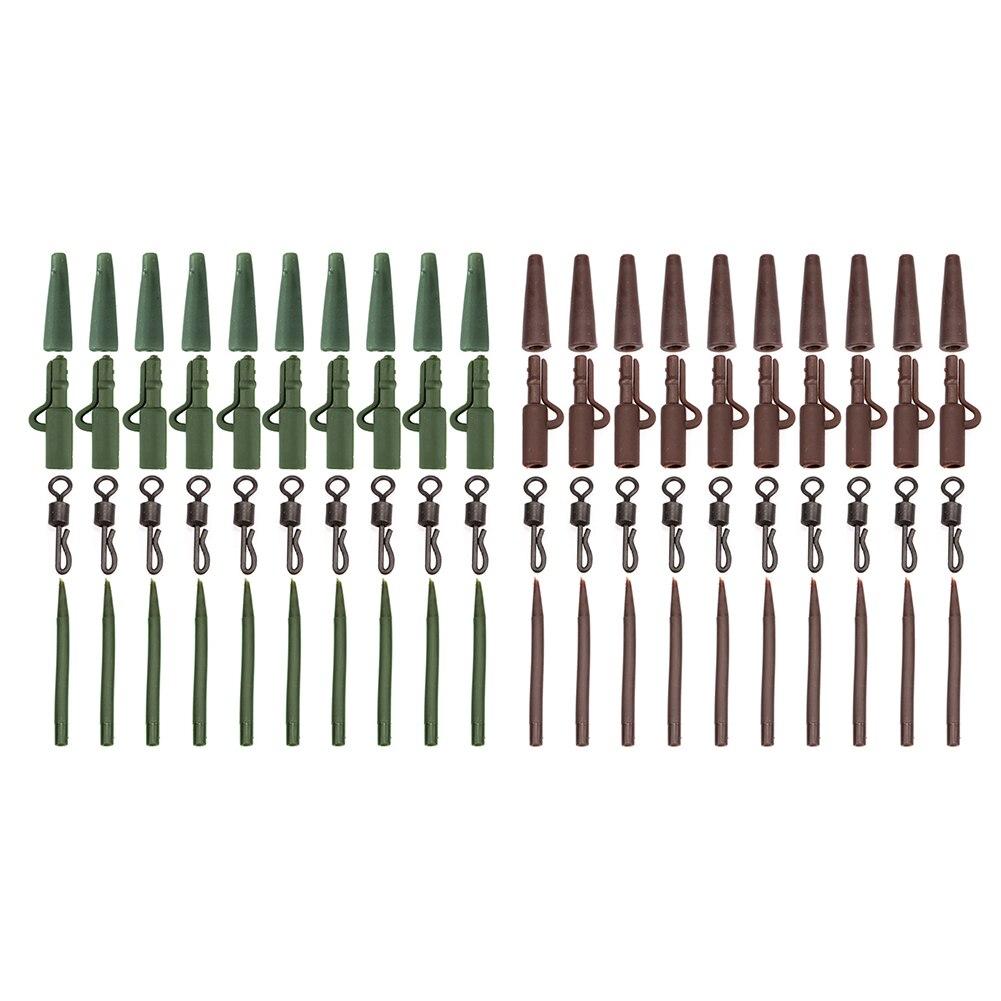40 шт рыболовные аксессуары для ловли карпа зимние наборы снасти