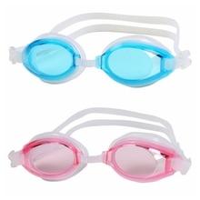Silicone Adjustable Swimming Goggles Eyewear Anti-fog UV Glasses With Box Sports