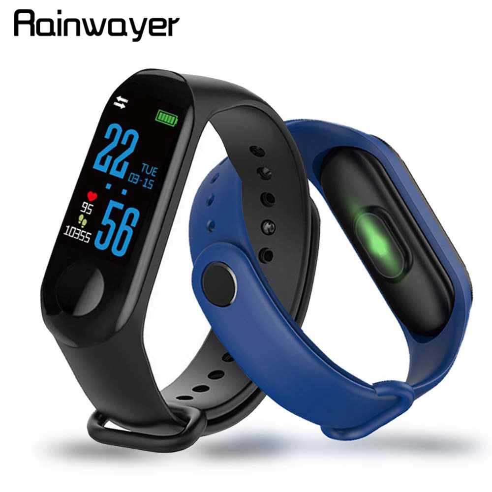 M3 Pro Smart Watch Sport Smart Band Blood Pressure Monitor Smart Wristband Smartwatch Bracelet M3Plus Wristband For Men Women A2