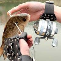 Deportes de pesca para exterior pez caza DIY Honda pulsera catapulta mano guardia banda de caucho rollo Honda tiro arco