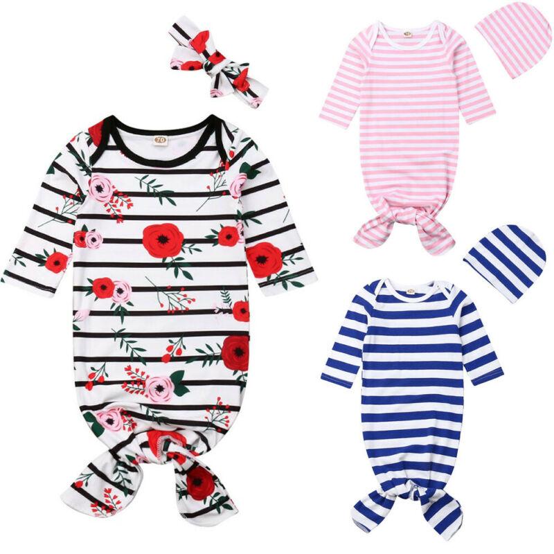 Newborn Infant Baby Boy Girl Sleep Clothes Sleeping Bag Sleepwear