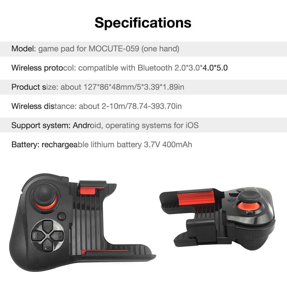 Bluetooth Gamepad Joypad untuk Android Joystick Wireless Controller Tablet Smart VR TV Permainan Pad untuk IOS